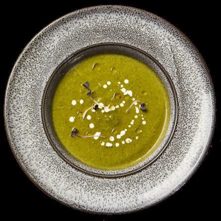 Крем-суп шпинатний