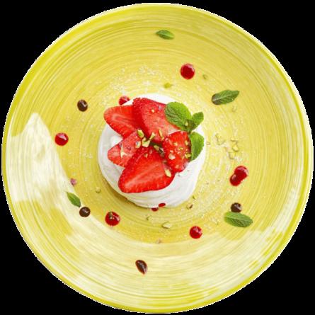 Меренга з ягодами
