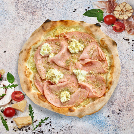 Піца з Мортаделою