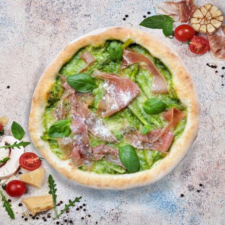 Піца Спаржа Прошуто